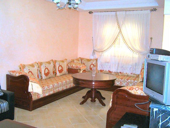 Le salon Marocainjpg  Dans le grand séjour, le salon marocain du